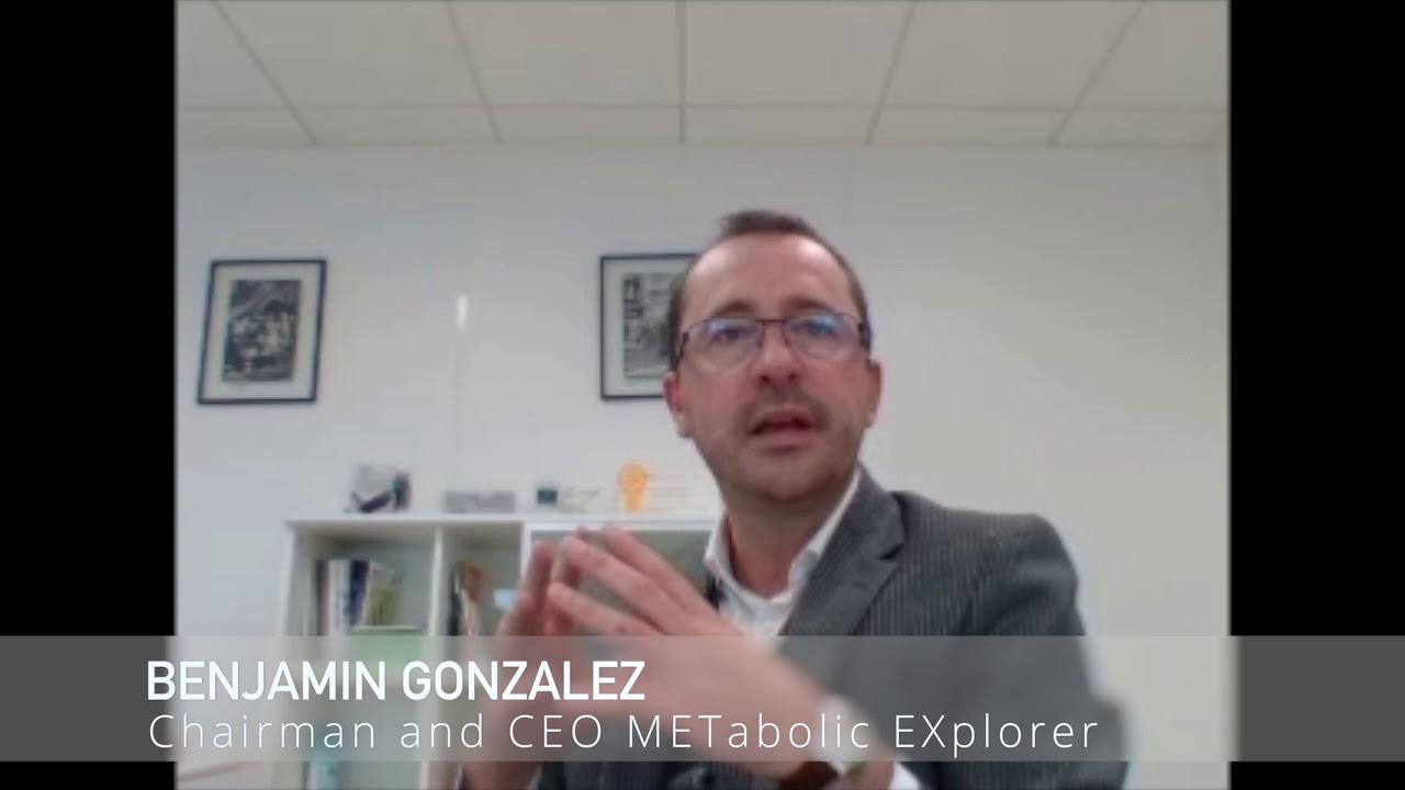 Benjamin Gonzalez, CEO METabolic EXplorer