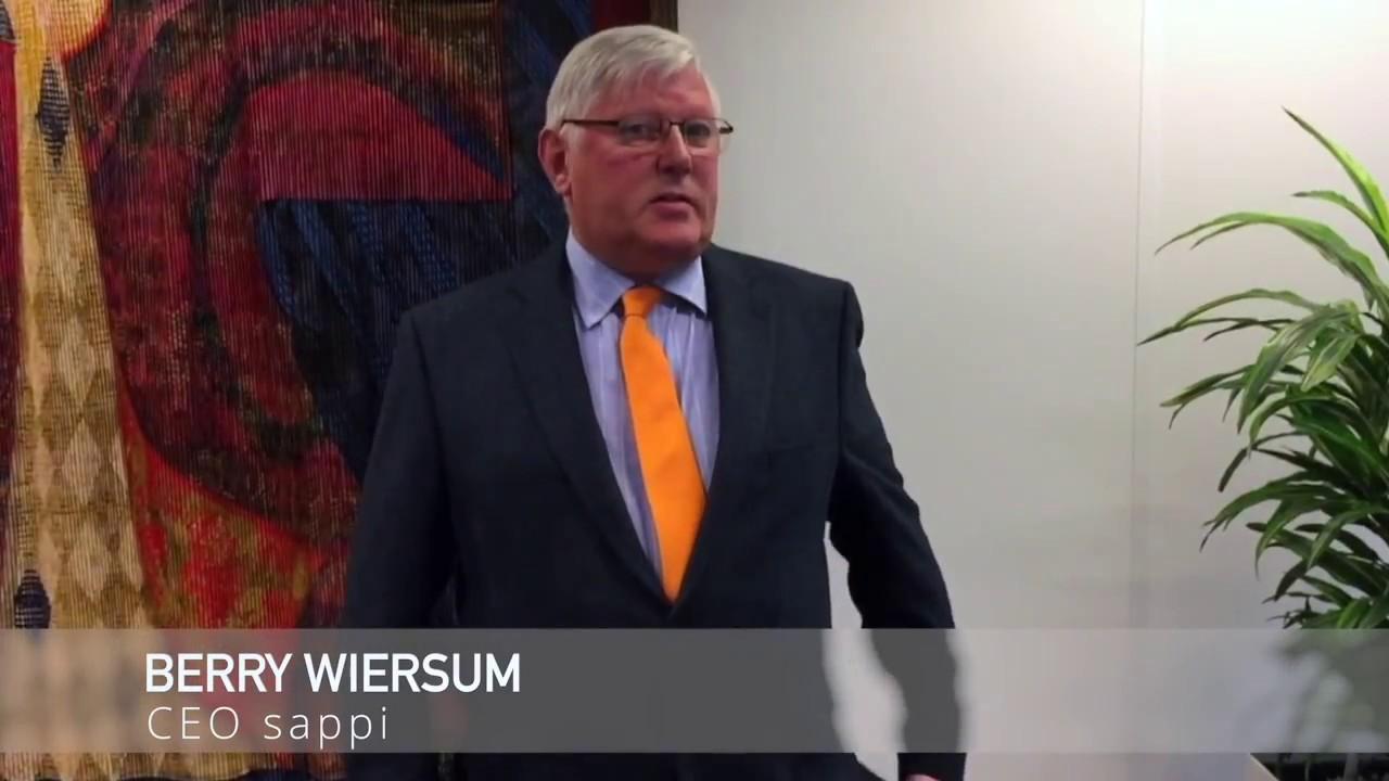 Berry Wiersum - CEO sappi